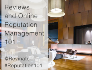 Reviews and online reputation management 101