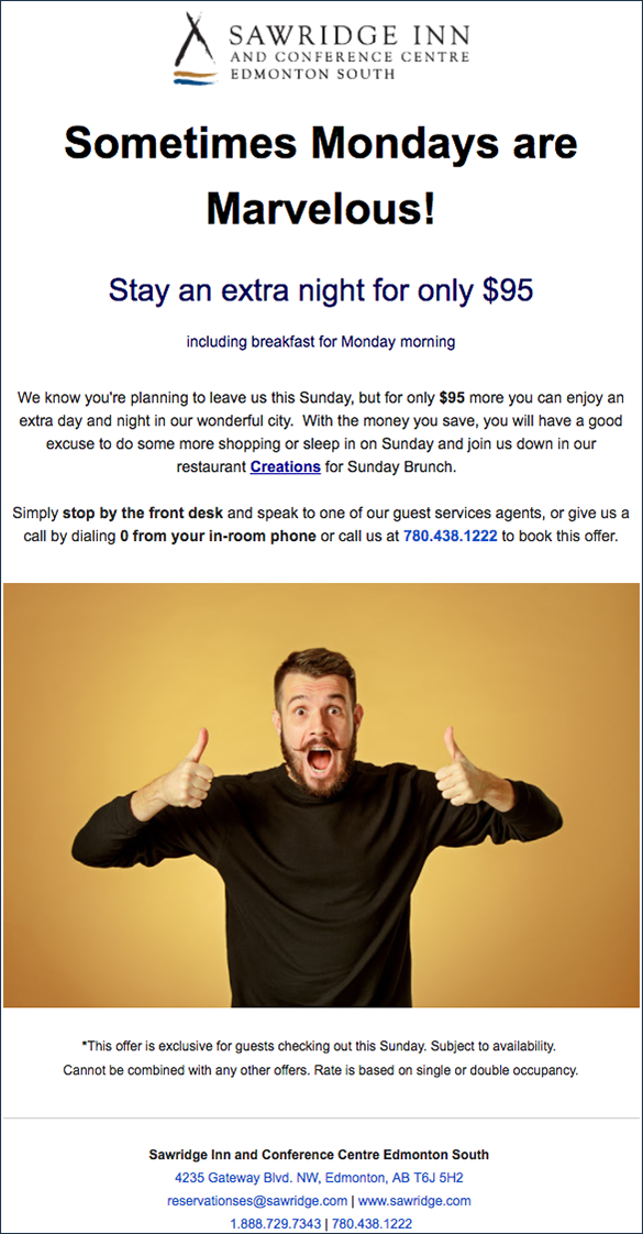 Personalization starts with data: how personalised email help you hotel ADR