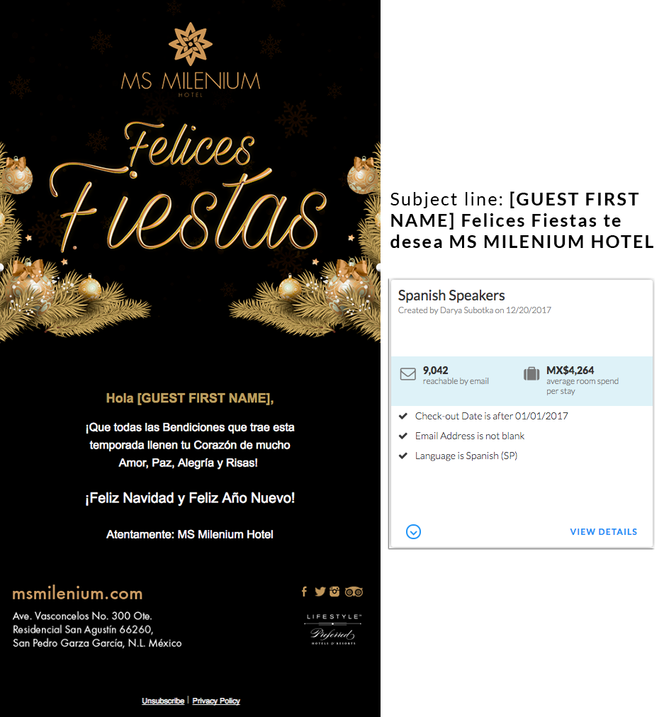 email deliverability campaign marketing - spanish